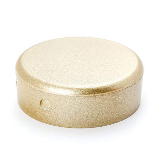 Verteilerdose PVC silber Baldachin Deckendose Rosette Abzweigdose Abdeckungl (gold)