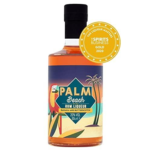 Palm Beach Banana & Butterscotch Rum Liqueur 50cl, 20% abv