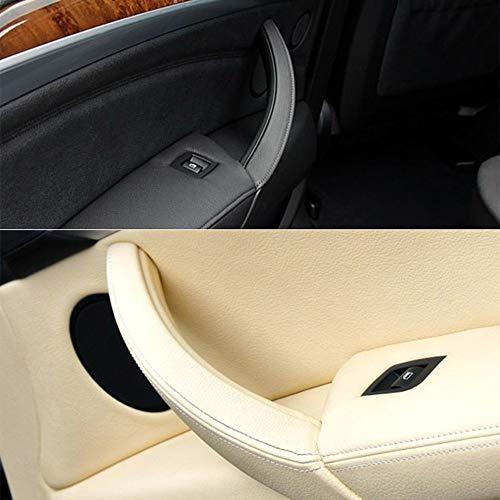WYYYFA Für BMW E70 X5 SAV E71 / E72 X6 SAV, Links rechts Auto-Innentürgriffe Innentürverkleidung Griff ziehen Zierblende