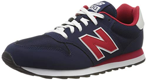 New Balance 500, Baskets Homme, Bleu (Navy Trt), 43 EU
