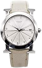[エルメス]HERMES Hウォッチ ロンド腕時計 HR1.510 230 アイボリー ステンレススチール レザー レディース □M刻印 中古