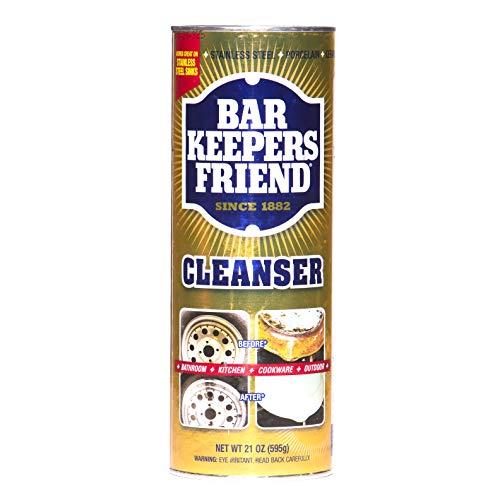 Bar Keepers Friend Powder Cleanser (21 oz - 4-pack) -...