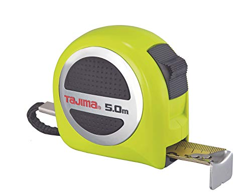 Tajima GASP25-50E Bandmaß (Maßband) 5 m / 25 mm (strong tape, Nylona coatin, Feder rostfrei)