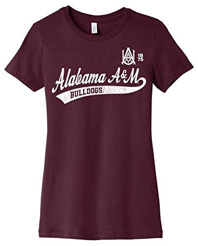 J2 Sport Alabama A&M Bulldogs NCAA Old School Sport Tail Junior T-Shirt
