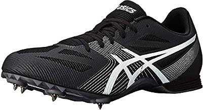 ASICS Men's Hyper MD 6 Track & Field Shoes, 12, Black/White/Midnight