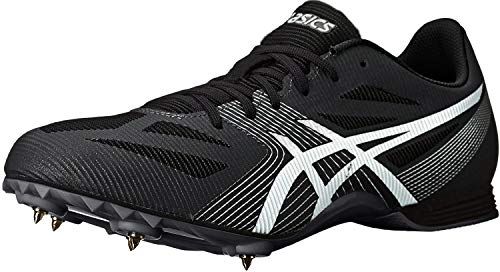 ASICS Men's Hyper MD 6 Track and Field Shoe (11 M US, Black/White/Midnight)