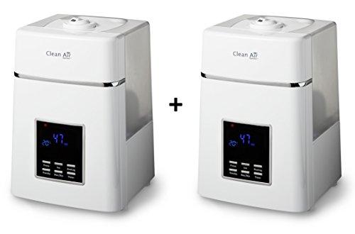 2x Humidifcateur dair /à ultrasons avec ioniseur CA-606 Humidificateur /à ultrasons Id/éal pour 65m/²