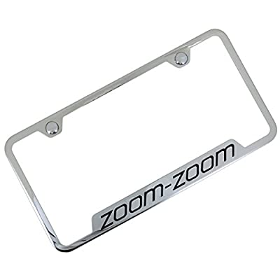 zoom zoom license plate frame