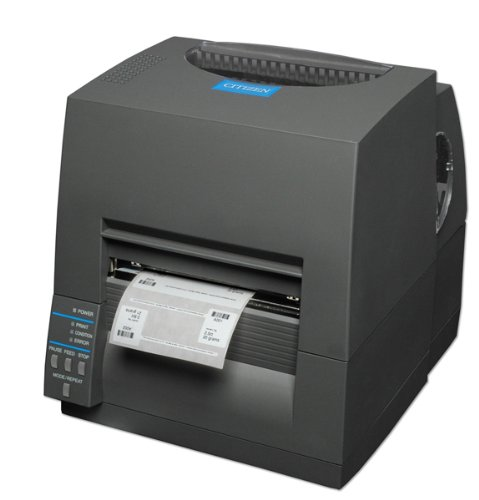Citizen cl-s631 – Etikettendrucker (300 x 300 DPI, 812,8 mm, 104.1 mm, Direct Thermal/Thermal Transfer, 150 mm/Sek, ZPL) schwarz