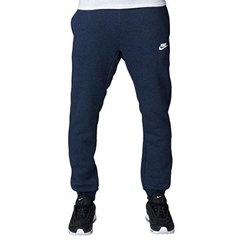 Nike Sportswear Club Jogger - Pantalón deportivo para hombre - 804408-473, Cónico, XL, Obsidiana Heather, Blanco