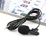OAHU® Professional Grade Lavalier Lapel Microphone Omnidirectional Mic with Easy Clip On System
