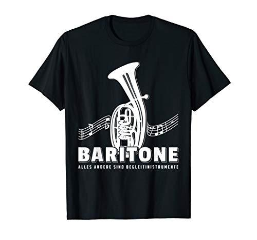 Bariton Spieler T-Shirt Geschenk Baritonhorn Lehrer Tenor