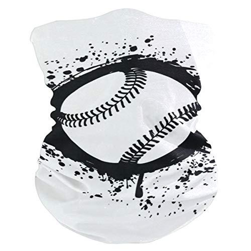 Outdoor Magic Stirnband gekreuzte Baseballschläger Ball Schal UV-Widerstand Sport Kopfbedeckung Serie für Yoga Wandern Reiten Motorradfahren