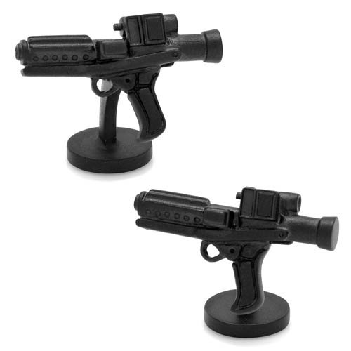 Star Wars Lucasfilms 3D Storm Trooper E-11 Blaster Manschettenknöpfe