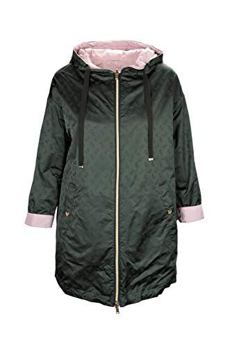 Herno GC0276D Reversible Damen-Jacke Half Coat, HERNO GC0276D Reversible, Grün, HERNO GC0276D Reversible 32