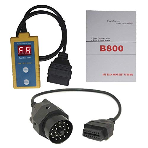 Proscan Automotive AC808 SRS - Lector de código de diagnóstico para airbag y Herramienta de reseteo para Serie E ZX