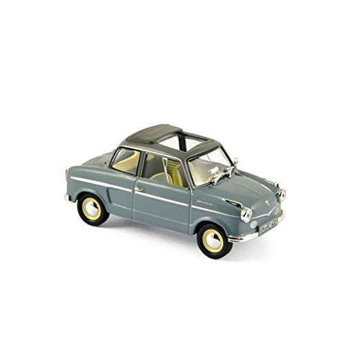 NSU Prinz II, grau/dunkelgrau, 1959, Modellauto, Fertigmodell, Norev 1:43