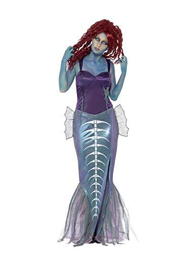 SMIFFYS Costume Zombie Sirena, comprende Top e Gonna a Coda di Pesce