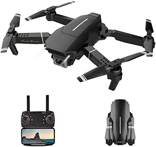 Drone con cámara HD 1080P Video en Vivo Cuadricóptero RC WiFi Gran Angular de 120 Grados con retención de altitud, Modo sin Cabeza, Volteretas 3D, Retorno de una tecla y Ajuste de Velocidad