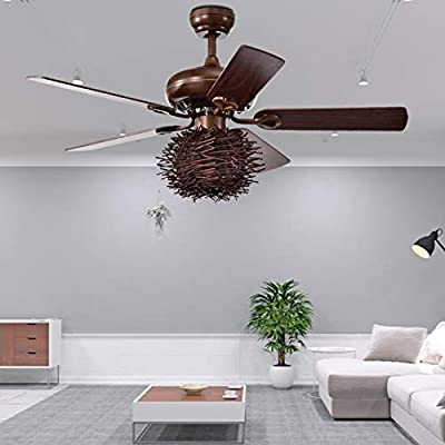 48'' Industrial Ceiling Fan with Lights...