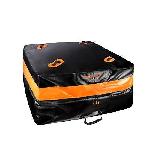 GoolRC Bolsa de Almacenamiento de Coche de 400L, Bolsa Impermeable para Techo de Coche, Equipaje, Bolsa de Viaje, portaequipajes, Bolsa Impermeable de Gran Capacidad para vehículos SUV, Carga