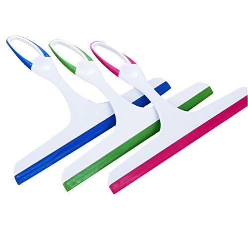 WZY® Dusche Abzieher Kunststoff ,Duschabzieher Silikon Fenster KücheGummi Dusche Abzieher für Badspiegel Duschabzieher (3)