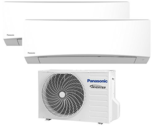 DUO MULTI Split Inverter PANASONIC Klimaanlage Klima 2,5+3,2 KW A++/A+