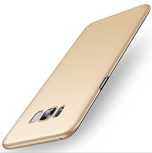 stengh Funda para Galaxy S8+ Plus Carcasa para Samsung Galaxy S8+ Plus (6,2 pulgadas) PC Case Cover Dorado