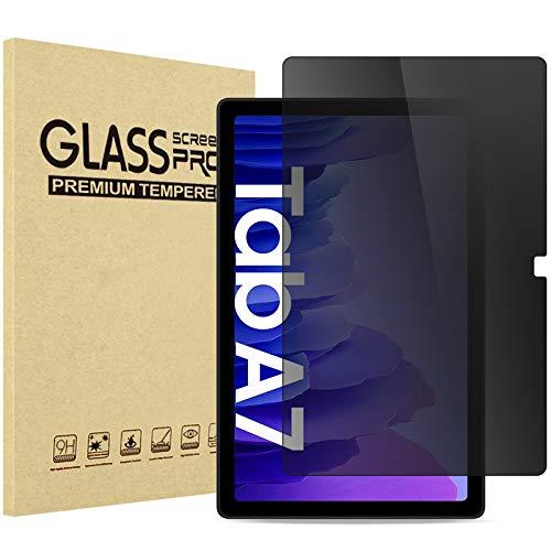 ProCase Privacy Screen Protector for Samsung Galaxy Tab A7 10.4'(Model SM-T500/ T505/ T507) 2020 Release, Anti-Spy Anti-Glare Anti-Scratch Tempered Glass Screen Film Guard