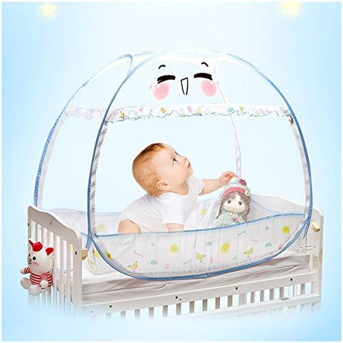 YANGM Baby Wiegje Veiligheid Pop Up Tent Bed Canopy Premium Baby Bed luifel Netting Cover Muggennetje Cover Yurt Stijlvolle En Stevige Unisex Babybed Tent Net Bescherming Baby Van Valt En Bijten