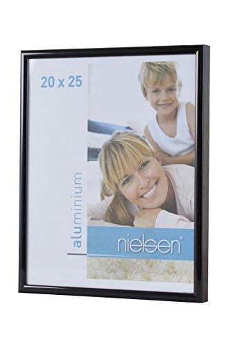 Bilderrahmen von Nielsen - Alurahmen Classic 60x80, Schwarz - Normalglas