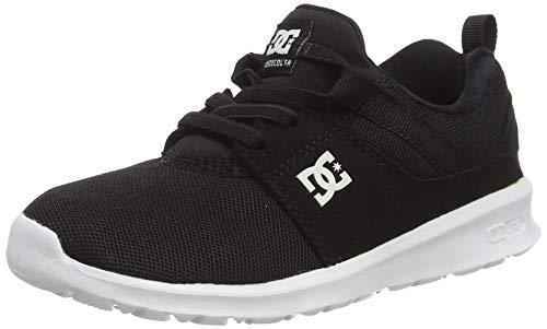 DC Shoes HEATHROW, Jungen Sneaker, Schwarz, 33 EU (1 UK)