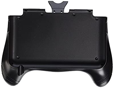 eForBuddy Hand Grip Attachment with Stand Bracket Kickstand for Nintendo 3DS XL/LL, Black