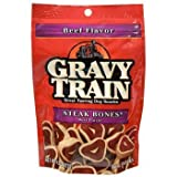 Gravy Train Steak Bones Treats 4.5 Oz. (Pack of 4)