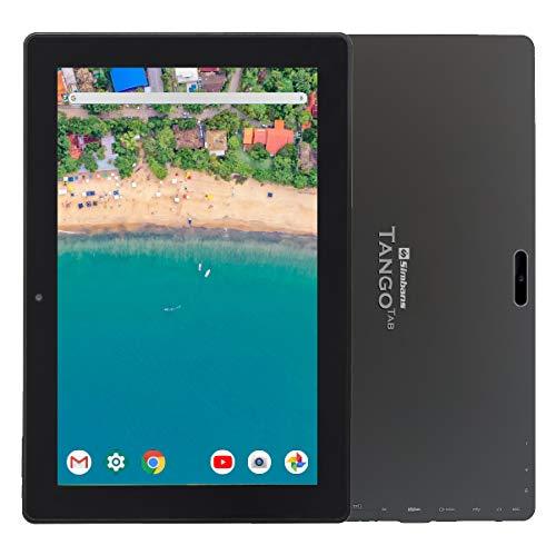 [3 Bonusgegenstand] Simbans TangoTab 10-Zoll-Tablet, 4 GB RAM, 64 GB Festplatte, Android 10, Mini-HDMI, Micro-USB, USB-A, GPS, Dual WiFi, Bluetooth, IPS Screen, Dual Camera Computer-PC - TX4C