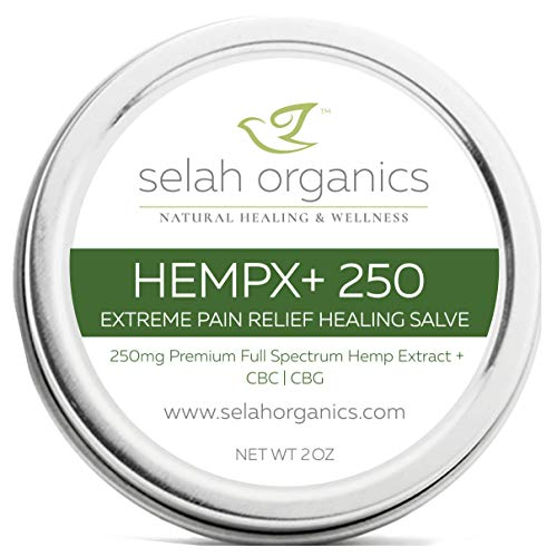 (2oz) HempX250+ Pain Relief Healing Salve | Fast relief of tired muscle, achy joint, overactive nerves | Breakthrough pain relief NOW | Reserve + Extract, Copaiba, Kava, Helichrysum, Menthol | CO