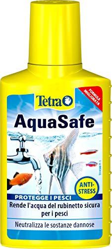 Tetra AquaSafe, Rende l'Acqua del Rubinetto Sicura, Neutralizza Le Sostanze Dannose per i Pesci - 100 ml