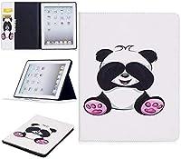 IPadのタブレットケース2nd / 3/4世代、かわいいパンダフクロウ蝶フラワーデザインタブレットスタンドカードスロットケースiPadと互換性のある2番目/ 3/4世代 (Color : 2)