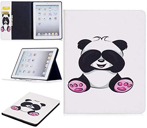 GZA Cajas De La Tableta para iPad 2nd / 3rd / 4th Generation, Lindo Panda Owl Butterfly Flower DISEÑA Tablet Soporte De La Tableta Funda De La Ranura Compatible con El iPad 2nd / 3rd / 4th Generation