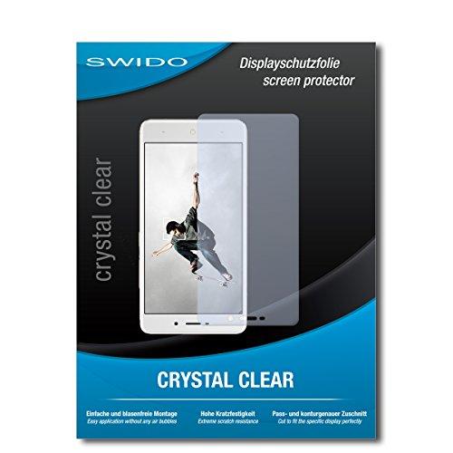 SWIDO Bildschirmschutz für TP-Link Neffos X1 [4 Stück] Kristall-Klar, Hoher Festigkeitgrad, Schutz vor Öl, Staub & Kratzer/Schutzfolie, Bildschirmschutzfolie, Panzerglas Folie