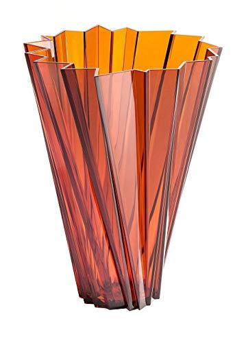 Kartell Shanghai Vaso, Confezione da 1 Pezzo, Ambra