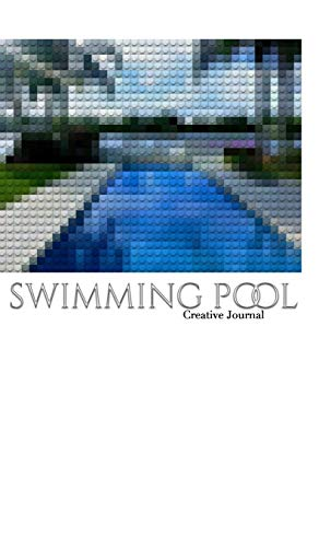 swimming pool lego inspired sir Michael Artist creative blank page journal