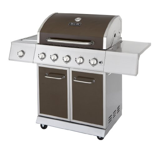 Dyna-Glo DGE Series Propane Grill, 5 Burner,...