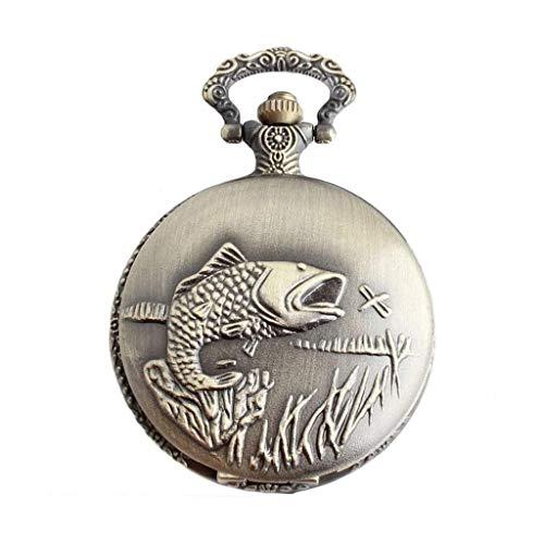 KSW_KKW Cadena de bolsillo reloj de bolsillo mecánico delicado clásico de la vendimia de bolsillo del cuarzo de los hombres de cuarzo reloj de bolsillo antiguo reloj colgante Movimiento Mecánico Preci