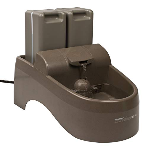 PetSafe Drinkwell Outdoor Dog Water Fountain, Pet Drinking Fountain, 450 oz Capacity Water Dispenser