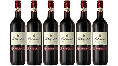 Caperucita Roja calidad Vino Dorn Campos halbtrocken (6x 0.75l)