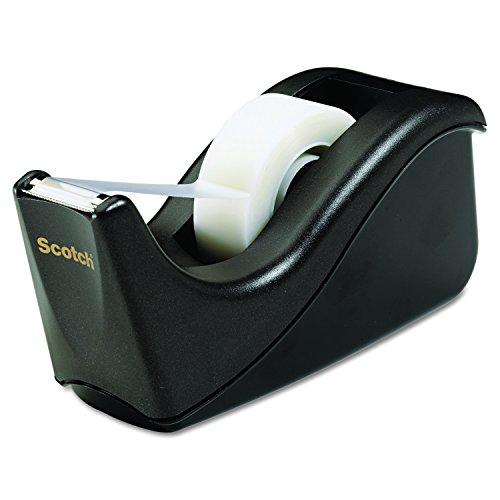 Scotch Desktop Tape Dispenser, Black Only $3.33 (Retail $8.99)
