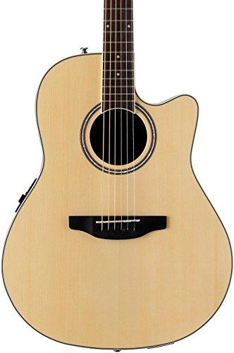 Ovation Applause Guitarra Electro-Acústica Mid Cutaway natural AB24II-4