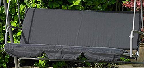GMD Living Ersatzbezug Hollywoodschaukel schwarz, Schaukelsitzbezug