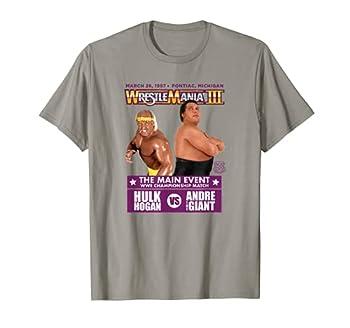 WWE Hulk Hogan vs Andre the Giant T-Shirt